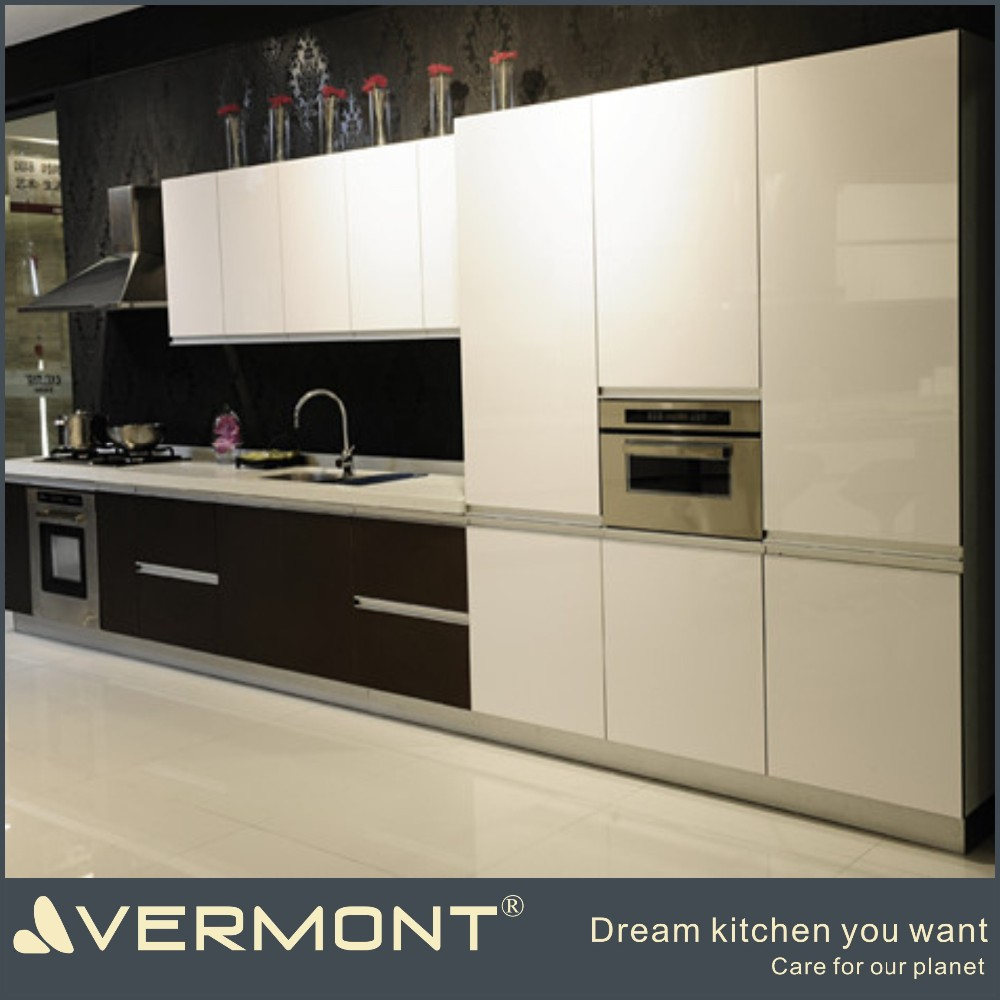 2017 new style black and white modular kitchen design buy black and white modular kitchen. Black Bedroom Furniture Sets. Home Design Ideas