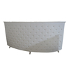 leather upholstered crystal wedding wooden bar counter design