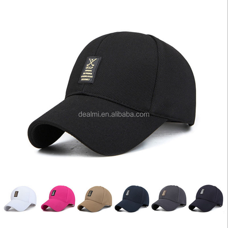 Wholesale Pure Color Dad Hat Fashion Adjustable Baseball Hat