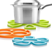 Creative Trivet,silicone pot Holder,jar Opener,spoon Rest(Set of 3) Non Slip,dishwasher Safe,heat Resistant Hot Pads