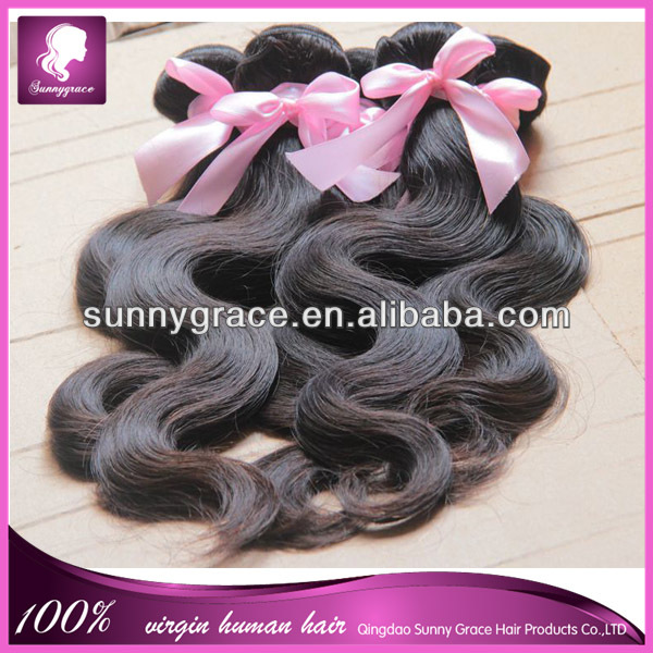 Free shipping 10 pieces a lot Brazilian human hair extension