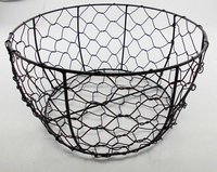 Small wholesale wire baskets wire bread baskets stainless steel wire mesh baskets