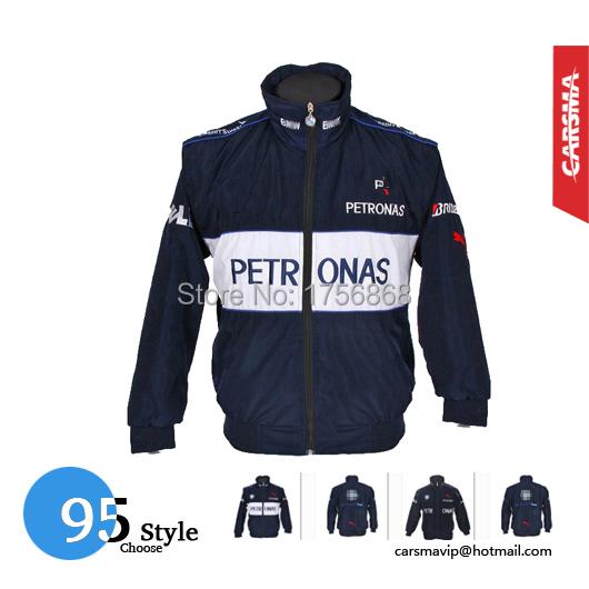 2016 новый Высокое качество F1 гоночный костюм осенью и зимой одежда мужская с рукавами куртки