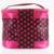 Satin Cosmetic Makeup Bag Toiletry Travel Bag Handy Large Wash Pouch Handbag Carry Case Organizer
