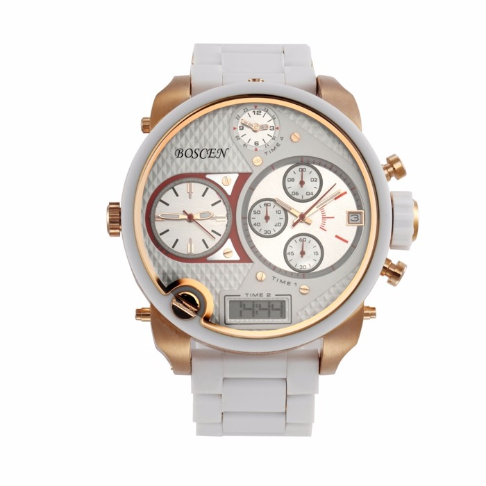 2017 Fashion Chronograph Reloj Stainless Steel Back Japan Movt ...