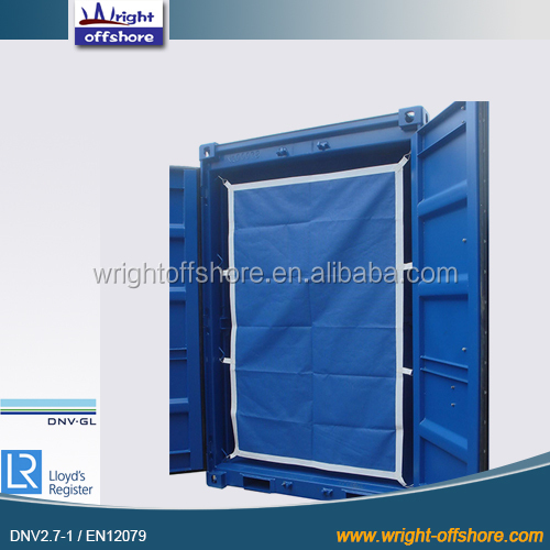 Steel colorful 6' Offshore Mini container, DNV2.7-1/En12079, DNV-GL,LR, CSC