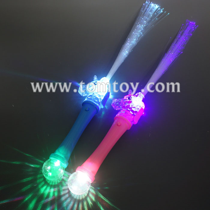 2018 New LED Light up Unicorn Fiber Optic Wand with Cheap Price