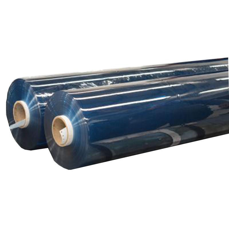 Moisture Proof Feature and Soft Hardness colorful super clear PVC film for tent covering and Balcony curtain