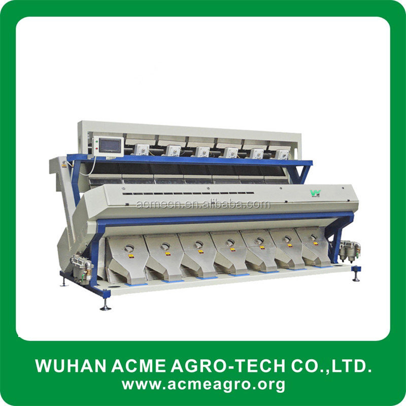 Rice coffee bean color sorting machine, color sorter ejector