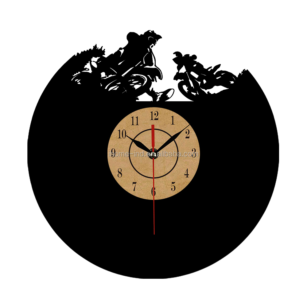 home decoration items vinyl record wall clocks(T5732)