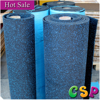 High density noise reduction shock absorber rubber deck for Balcony noise reduction