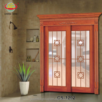 Sliding wooden main door grill gate designs buy main for Sliding main door