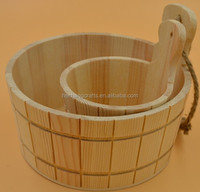 2019 wooden barrel wooden bucket