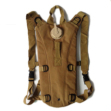 Outdoor Adventure Camping 2-3L water bags military digital camo hydration pack foldable nylon tactical backpack with bladder