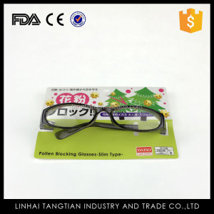 TTY-0171 Dust proof and anti pollen glasses china factory cheap price plastic goggle anti pollen glasses