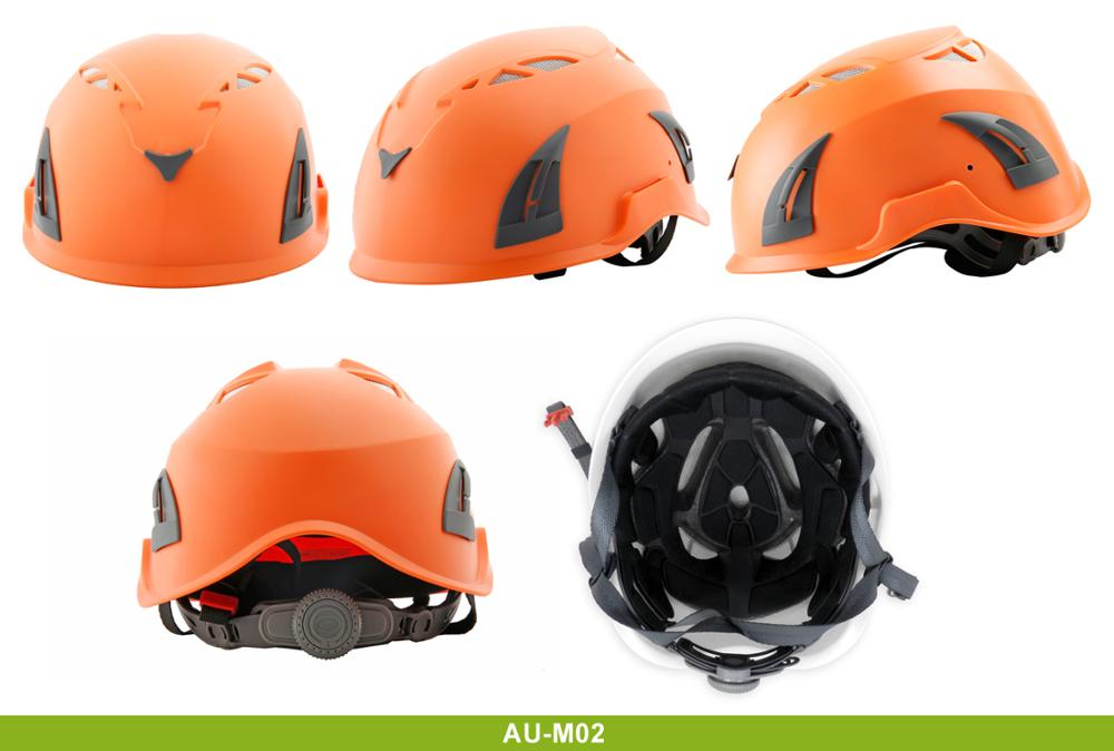Cheap-Orange-Ventilated-Hard-Helmets-with-Tinted