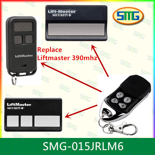 390mhz liftmaster remote control products