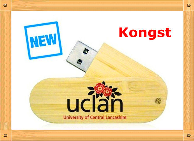 UCLAN student learning usb/bamboo/wood usb flash drive