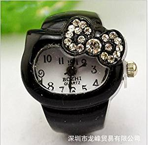 Direct selling quartz watch han edition fashion ring finger pattern couple bracelet refers to a pointer female students
