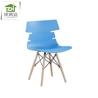 Modern Living Room Plastic Chair and Plastic Cafe Chairs