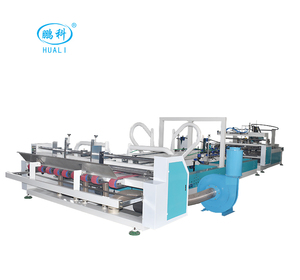HL-2600 CE Certificate Fully Automatic Folding Gluing Machine Used In Carton Box Gluing