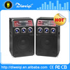 12 inch active stage speakers made in china with usb / sd / fm / wireless Microphone