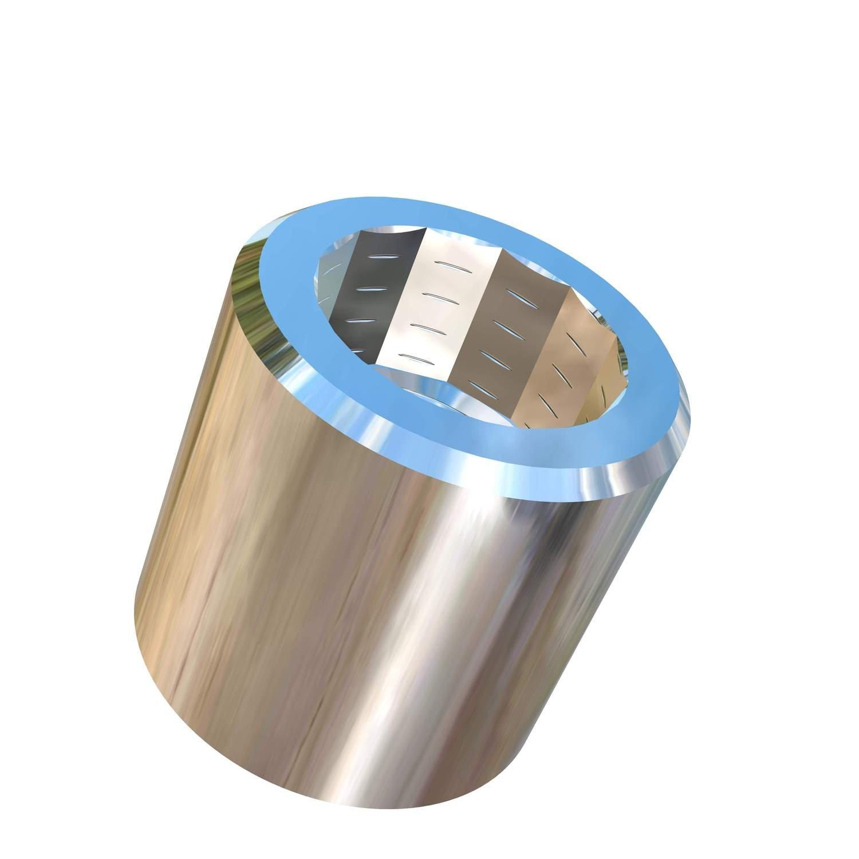 Allied Titanium 0070539, (Pack of 5) 5/16-24 UNF Titanium Hex Allen Nut, Grade 5 (Ti-6Al-4V)