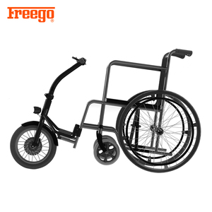 Lightweight folding power wheelchair electric car for wheelchair user