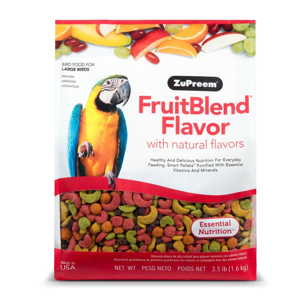 ZuPreem Fruit Blend Bird Food Large Parrot