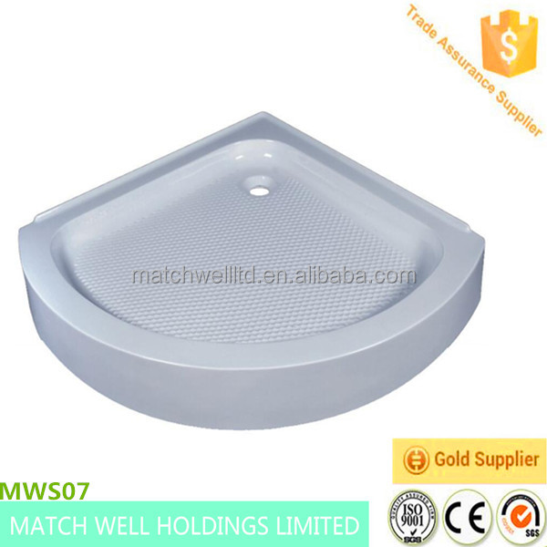 high quality cheap round shower tray and shower base
