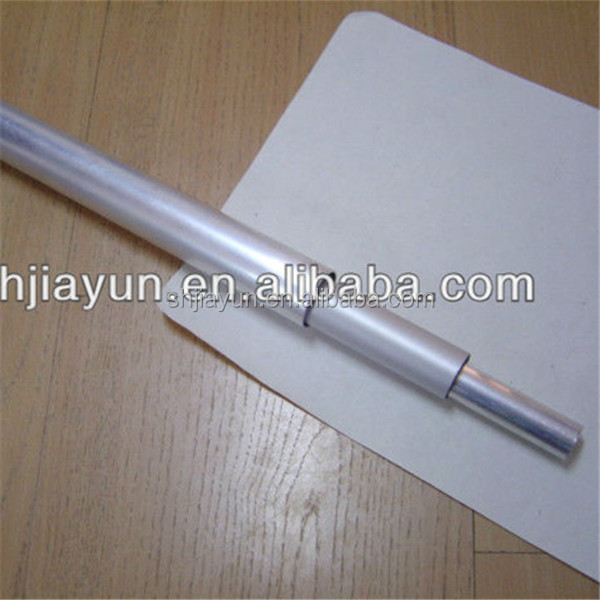 aluminium telescope pole tube aluminium triangle tube ribbed aluminium tube