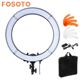 Fosoto RL-18 240 LED 5500K Dimmable Photography Video Studio Photo Phone Ring Light