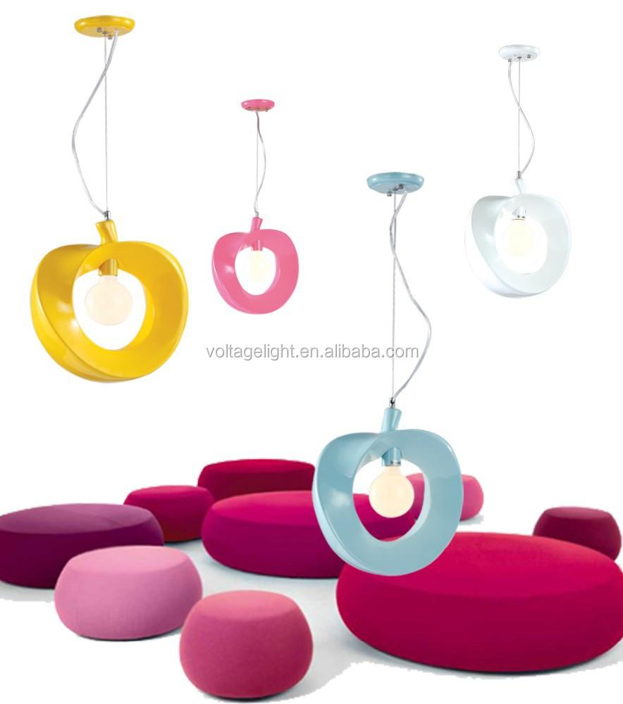 moderni fantasia decorazione della resina illuminazione a sospensione ...
