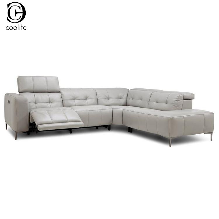 Modern L P Recliner Sectionals Sofa