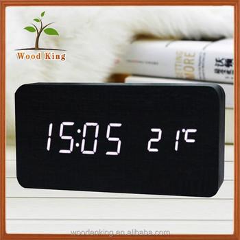 cbda17fea79 Levou A Sala de Estar de Cabeceira de Mesa Digital Mini Relógio Despertador