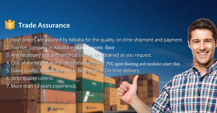 Alibaba fornitore rosso sport superfici con spessore di 4.5mm