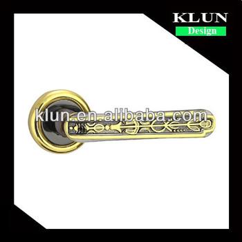 Decorative Brass Door Handle ,lever Type Door Knob For Bedroom ,interior  Door 111