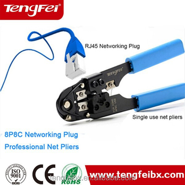 Network LAN Crimping Tool For RJ11 RJ12 RJ45 Crimper Modular 8P8C-6P6C-4P4C