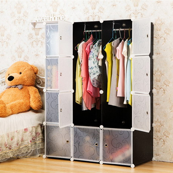 Multi Use DIY 20 Cube Organizer, Bookcase, Storage Cabinet, Wardrobe Closet    (