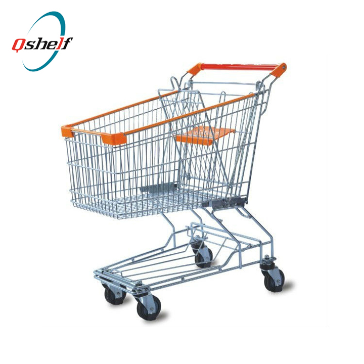 Trade assurance mini personal supermarket folding shopping cart trolley, aluminum shopping cart with wheels