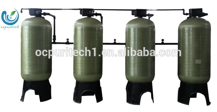 Automatic Or Manual Backwash Valve Frp Water Tank Price For Industrial