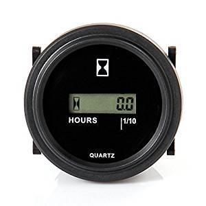 Get Quotations Hain Lcd 110v 120v 220v 230v Ac Hour Dc Digital Round Engine Meter Gauge For Marine