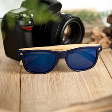 BOBO BIRD China factory dropshipping fashionable Plastic eyewear wooden Sunglasses polarized men women glasses custom logo