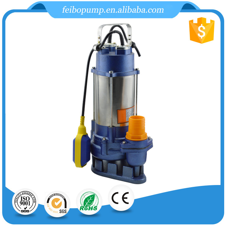 Factory supply 2HP 2 inch stainless steel float switch submersible sewage water motor pump price