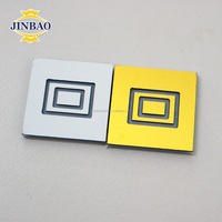 JINBAO 1.5mm double color ABS sheet for laser and rotary engraving