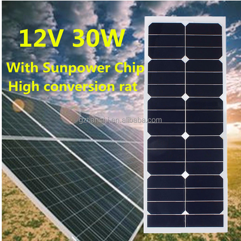 25 years warranty 250w solor cells 24v PV flexible mono solar panel 250w