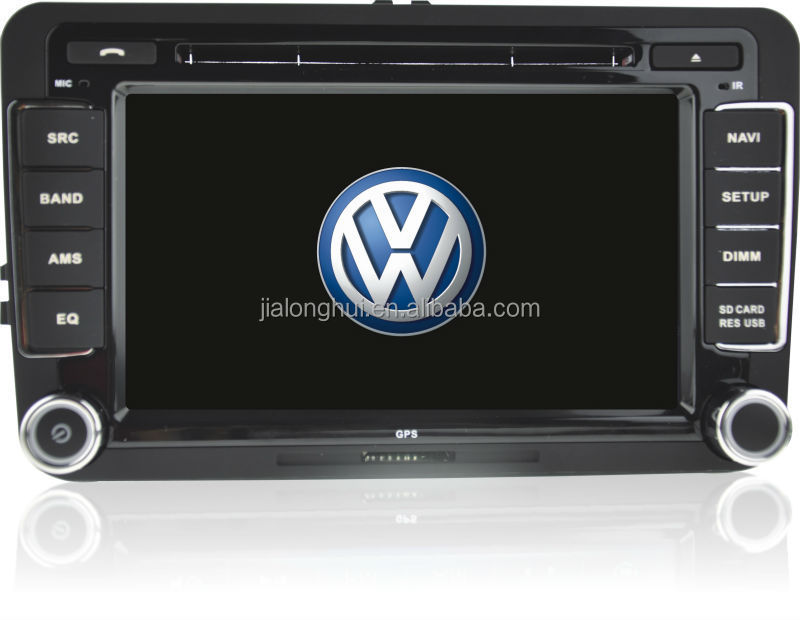 Double Din For Vw Golf Magotan Android 442 Car Audio System Full Rhalibaba: Vw Touch Screen Radio At Gmaili.net
