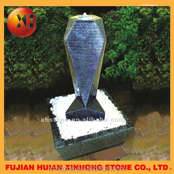 Garden magic water fountain mold for home