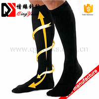 Wholesales sports knee high running bonvolant compression socks for men and women