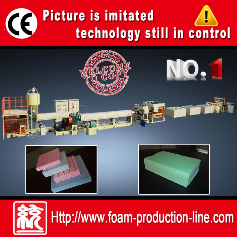 XPS Foam Board Extruder(heat insulation foam board making machine,plastic machine,machinery) TYXPS-135/150